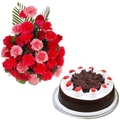 Admiring Beauty N Cake Combo