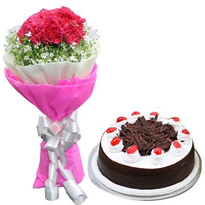 Striking Impression N Chocolate Cake Combo