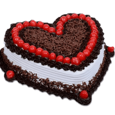 BLACK FOREST ANNIVERSARY CAKE