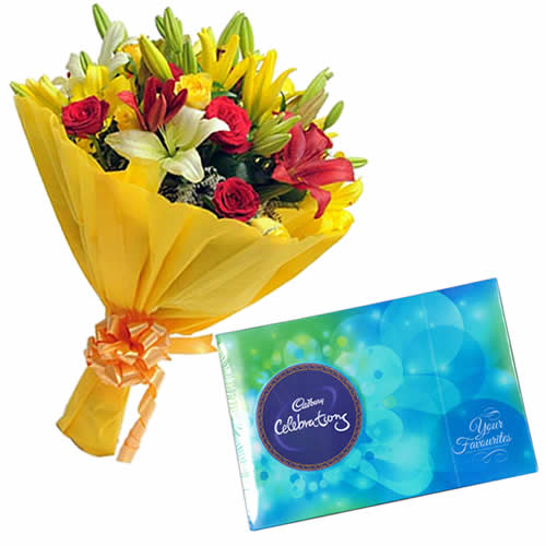 Lilies Bunch Combo